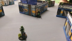 Will's Knight Hospitalier moves towards the HVT