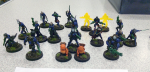 My army arrayed for display