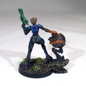 Kamael Light Infantry with Defensive Hacking Device - click to enlarge