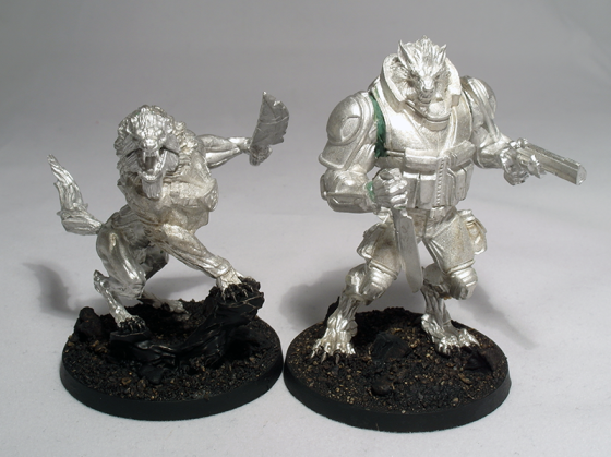 USAriadna Devil Dog and K-9 Antipode (work in progress) - click to enlarge