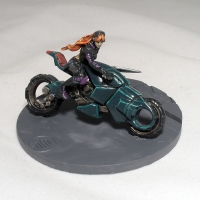 Penthesilea on new base (work in progress) - click to enlarge