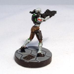 Celestial Guard with Boarding Shotgun - click to enlarge