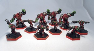Dreadball Marauder team - click to enlarge