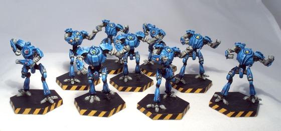 Dreadball Robot Team - click to enlarge
