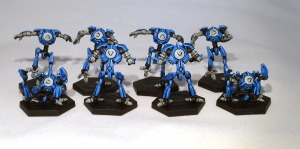 Dreadball Robot Team booster - click to enlarge