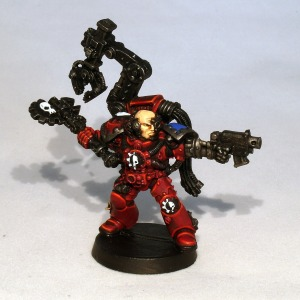 Techmarine commission (work in progress) - click to enlarge