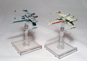 CorSec and Rebel Alliance X-Wings - click to enlarge