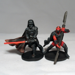 Darth Vader and Royal Guard Champion - click to enlarge