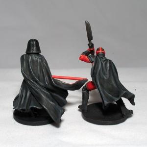 Darth Vader and Royal Guard Champion - click to enlarge