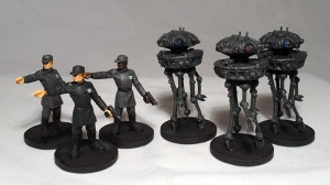 Imperial Officers and Probe Droids (work in progress) - click to enlarge