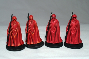 Royal Guards (work in progress) - click to enlarge