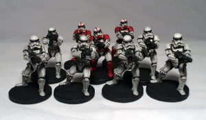 Stormtroopers (work in progress) - click to enlarge