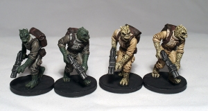Trandoshan Hunters (work in progress) - click to enlarge