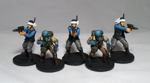Rebel Troopers and Saboteurs (work in progress) - click to enlarge