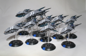 Post Human Republic fleet (work in progress) - click to enlarge