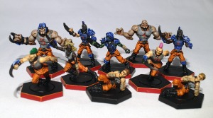 Dreadball Convict team - click to enlarge