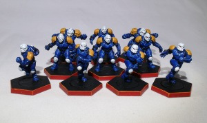 Dreadball Human team - click to enlarge