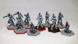 Dreadball Kalyshi team (work in progress) - click to enlarge
