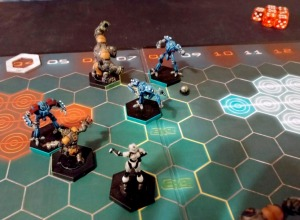 Dreadball League Game 1 - click to enlarge