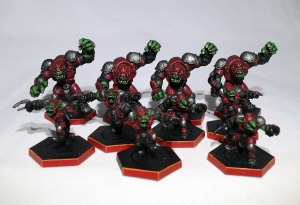 Dreadball Marauder team - click to enlarge