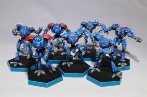 Dreadball Robots - click to enlarge