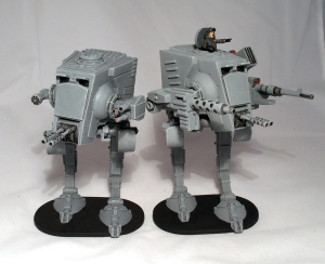 AT-ST and General Weiss - click to enlarge