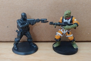 Heroforge models (unpainted) - click to enlarge