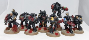 Deathwatch 'showcase' squad