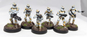 Phase 1 Clones with Z-6 Rotary Blaster